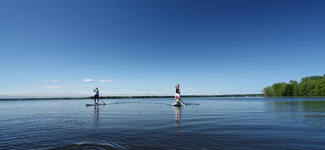 Jean-Guy Leger 2: Friends of Aerosport in Oka, Quebec, Canada on lake of two mountains