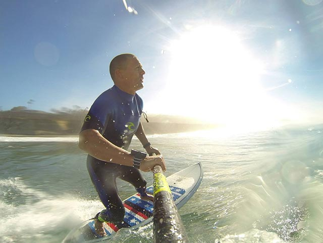 Mark Terrell: Morning session at Del Mar Cliffs, San Diego County.