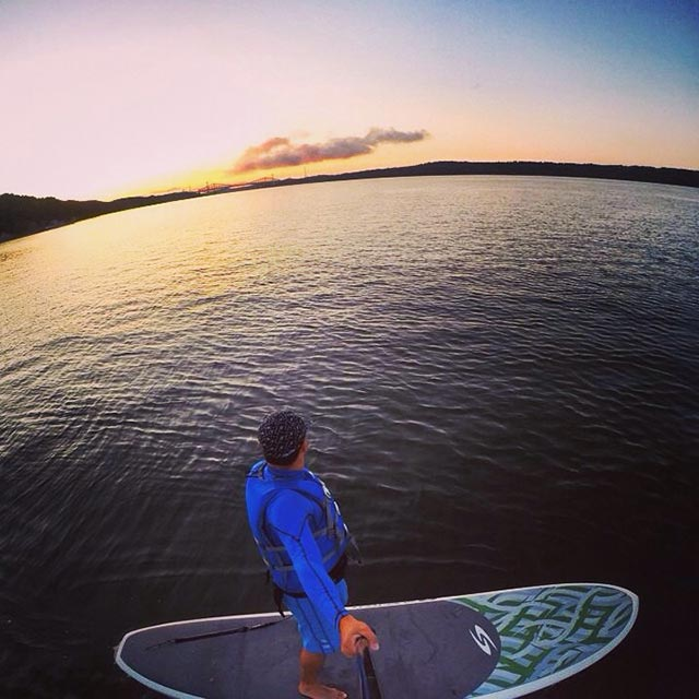 Mauricio Juarez: In the middle of the St-Lawrence River - Quebec