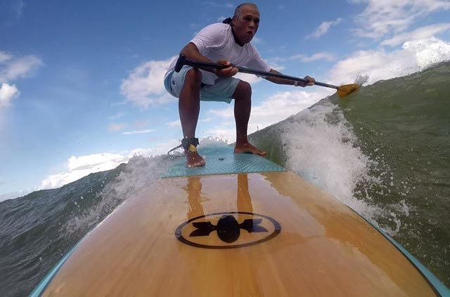 Orlando Costa: SUPWAVE do u to live free, with GoPro I took this photo practicing my favorite sport in Itapuã Bahia Brazil.