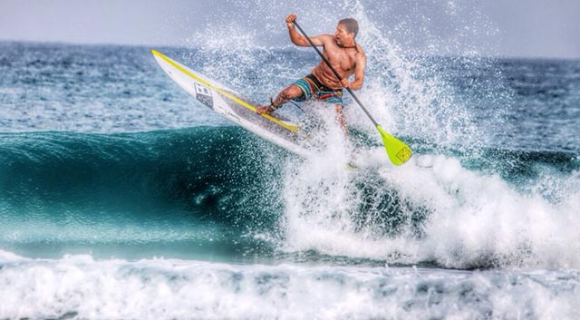 Rami Shechter: Surfing in Israel under missile attack from Gaza. Three missiles hit this same beach during operation protective edge in the past few weeks.