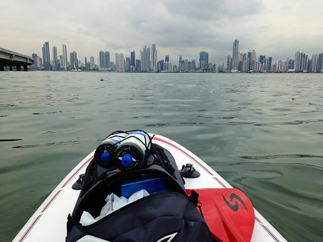 Eduardo Perez: A quiet afternoon in Panama Bay, Panama