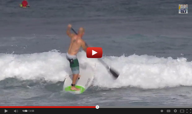How To Stand Up Paddle Through Breaking Waves