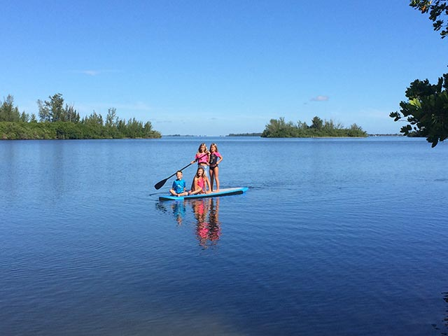 "Jessica Keaton: ""The more, the merrier"". Photo taken by Fran Walker on Sunday, September 14th in the Indian River Lagoon, Sebastian, Fl. The Walker and Keaton kiddos enjoying Mother Nature! Living in paradise!"