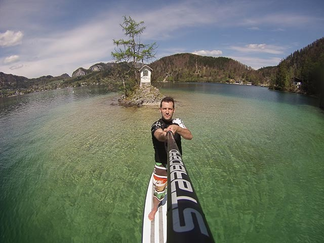 Jiri Kostelecky: Happy Easter at Wolfgangsee, Austria.