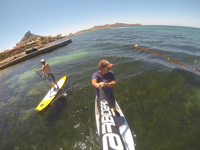 Jorge Lopez: SUP at Sea of Cortez, Mexico.