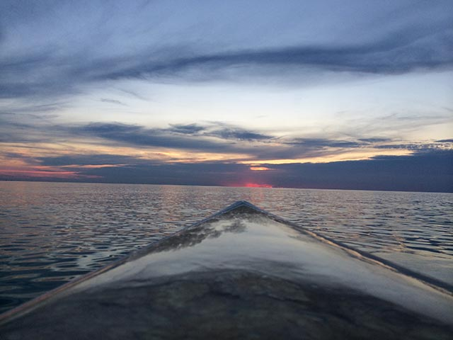 Matthew Boehnlein: GOD's art Sup view of Sunset