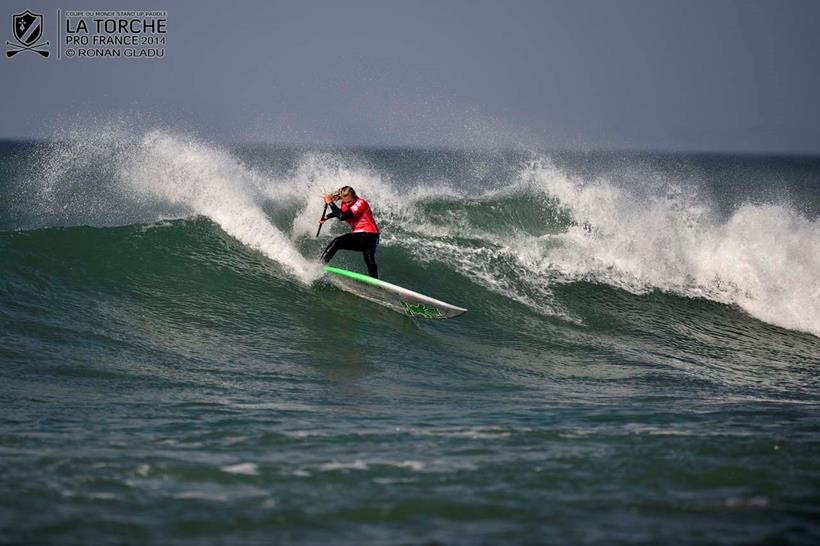 Izzi Gomez dominates the final day of competition and secures the win in France