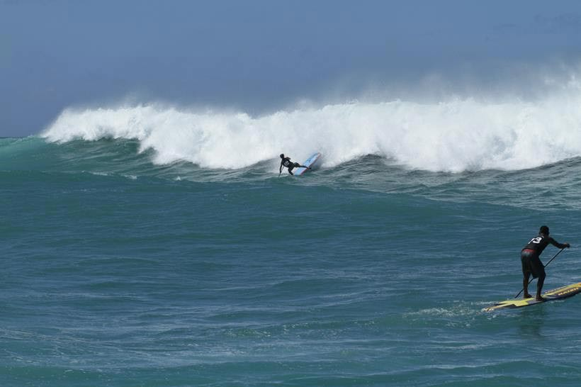 Oahu's Fabled North Shore proves itself to be the ultimate equalizer once again