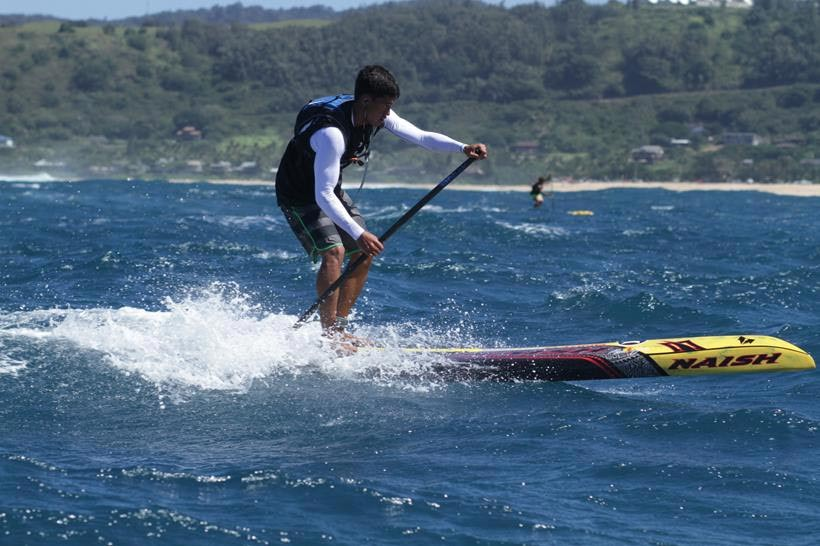 Riggs Napoleon steps up on Day 1 of the World Series Finals at Turtle Bay