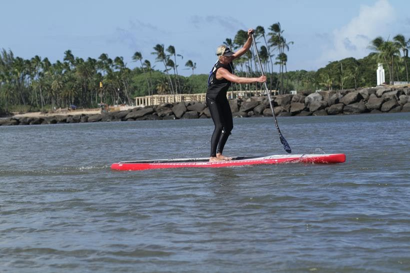 Sonni Honscheid's time in Maui pays off with a solid 3rd place finish today in Oahu
