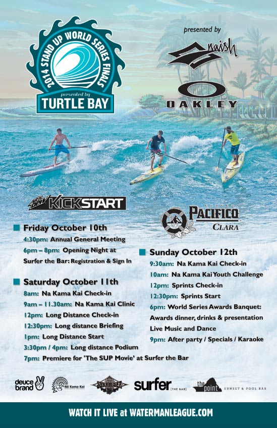World Series Finals at Turtle Bay to kick off next weekend on Oahu's North Shore