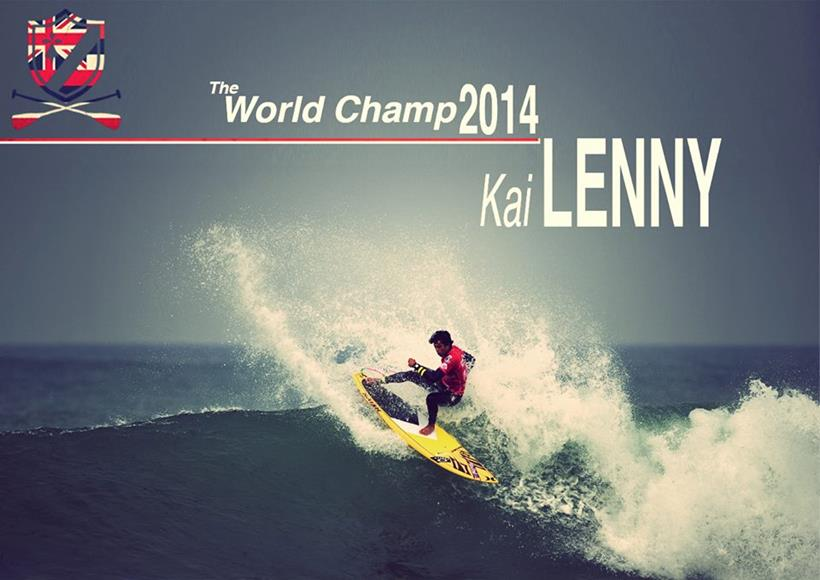 Kai Lenny makes history once again to secure his 4th World Championship Title