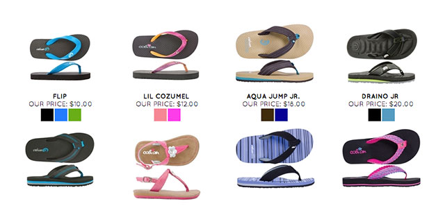 Cobian Youth Sandals