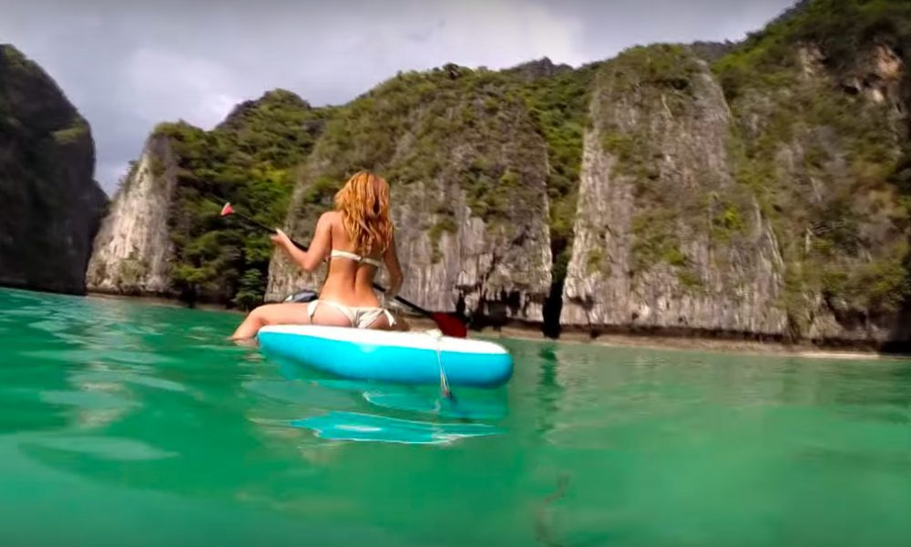 Beautiful Sup Journey To Phi Phi Le Island Thailand