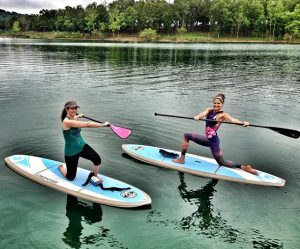 disconnect to reconnect with standup paddling