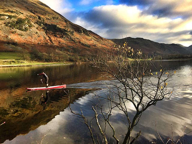 Allistair Swinsco: Still winters day in the beautiful Lake District, northern England.