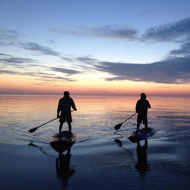 Christian Edie: SUP Erie Adventures - Sunset Bay NY