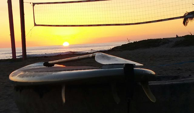 Rob Hoopengarner: Sunrise sup view