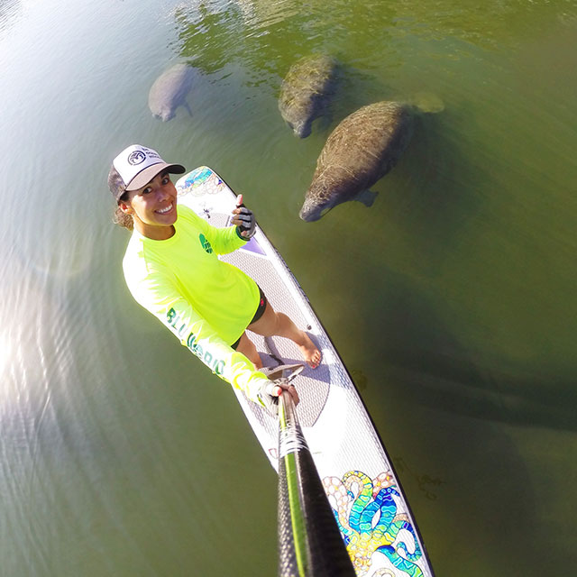 Lizi Ruiz: Some Manatees dropped by to say hi!