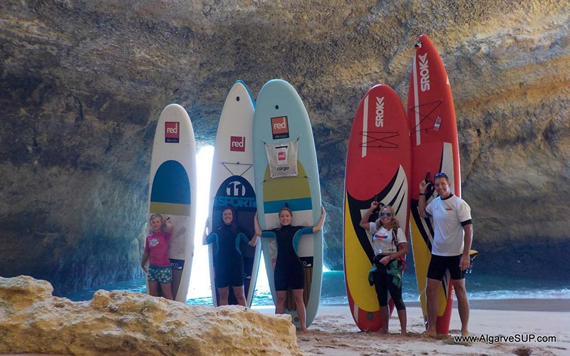 Nick Robinson: Paddling Southern Portugal's coastal caves in the Algarve opens you up to a wealth of delights!