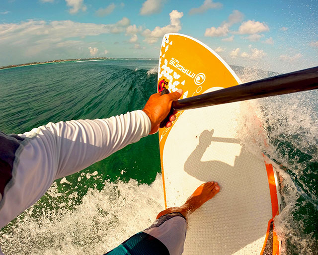 Wes Matweyew: Sunrise Snap with surfSUP Turks and Caicos' Wes Matweyew