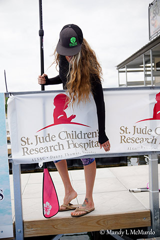 jodelle with st jude poster