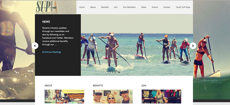 sup industry association partnership with surf expo