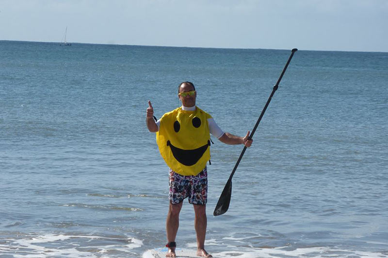 Joao Santos: Smile, you are in a sup class!
