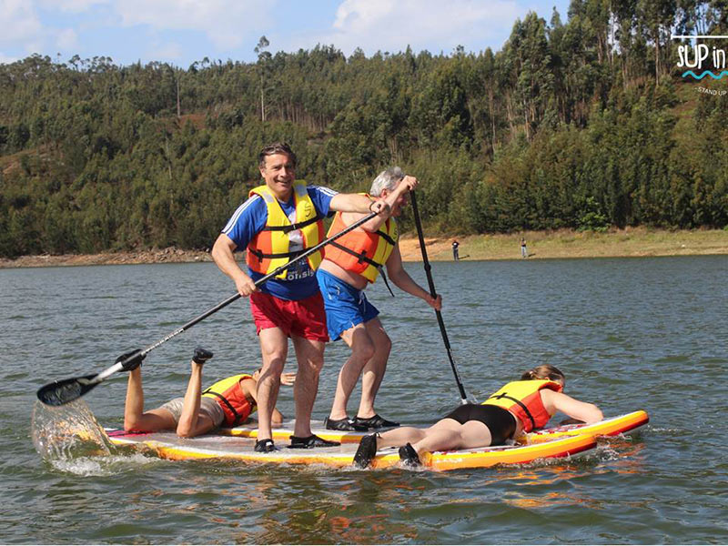 Rui Magalhães: Stand up Paddle Board is the perfect sport for a corporate team building session. - Portugal
