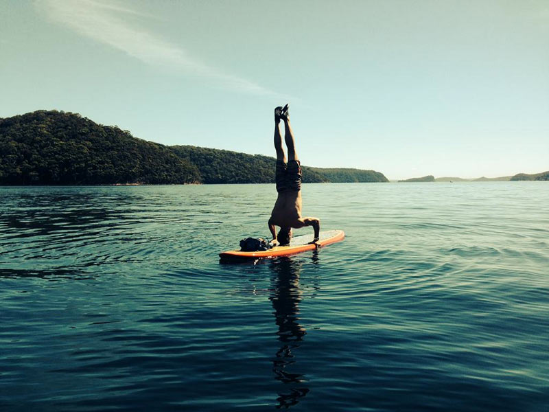Tony Henry: Happy Days! Pittwater on Sydney's Northern Beaches is SUP Paradise!