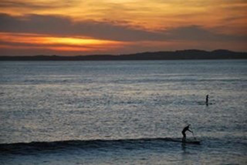 Aldrick Muggler: Sunset Paddle at Salvador, Bahia Brazil