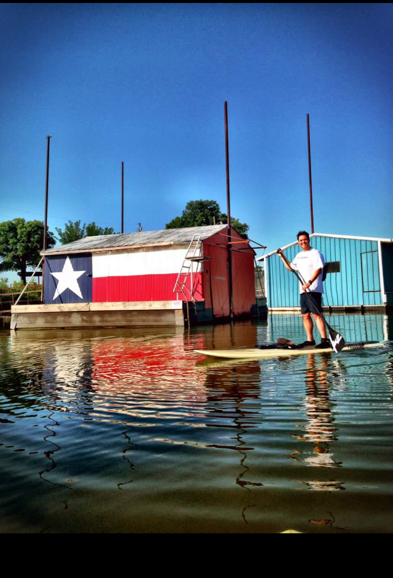 Darren Anderson: Stand up Texas style on lake Grapevine