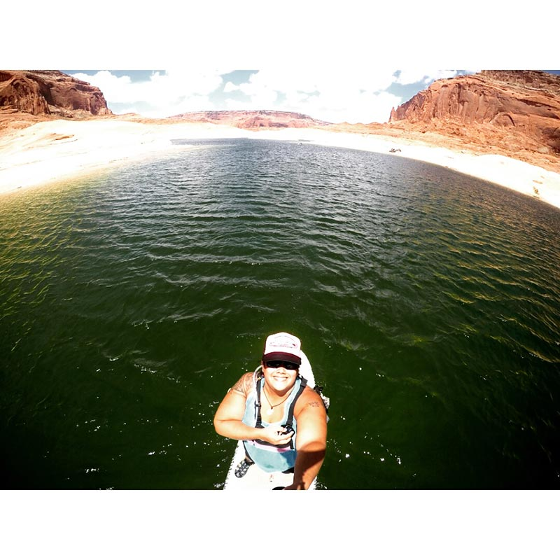 Jessica Melger: Lake Powell SUP JUNKIES 2015