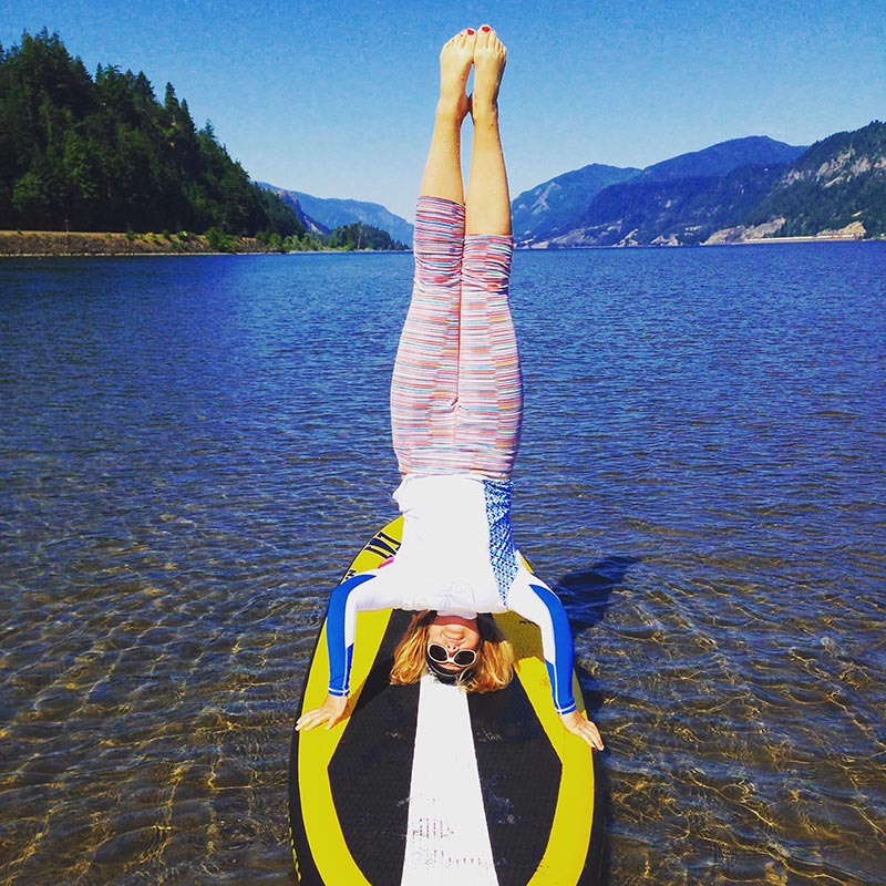 Jill Sommerset: Feeling all upside down in Hood River, OR