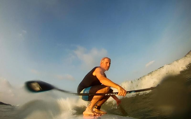 Mark Nicoletti: Surfing Naples Florida