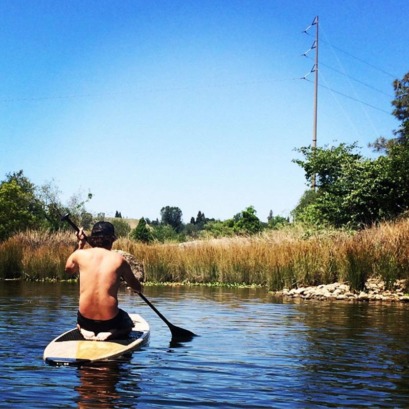 Ryan O'Riordain: Just a relaxing and lazy weekend paddle on Lake Natoma
