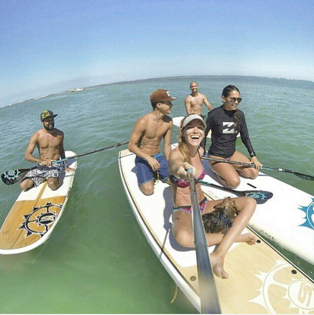 @slingshotsup What's your weekend look like? @douglasurfing knows how to have a good time. #sup #paddleboard #paddleboarding
