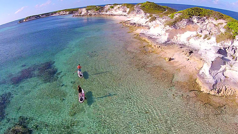 "Aldo Campos: Paddle Board excursion at San Salvador "" Columbus Isle "" Bahamas. This virgin island have many exotic places to Paddle Board. Flat water and waves to have fun."