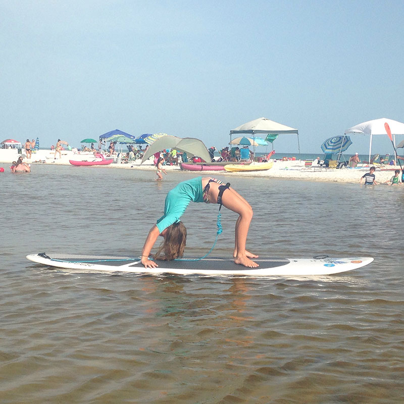 Kerrigan Moore: There is no better way to spend your day in Seaside, Florida than to go suping!