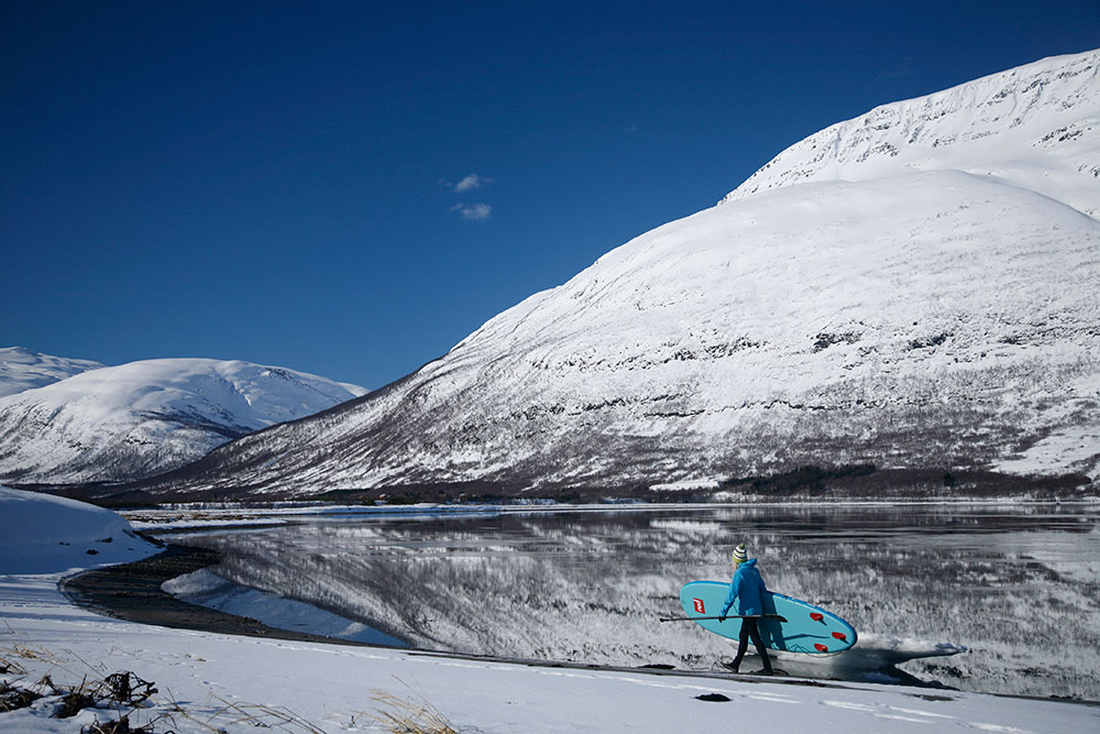 Standup Paddling Above the Arctic Circle 11