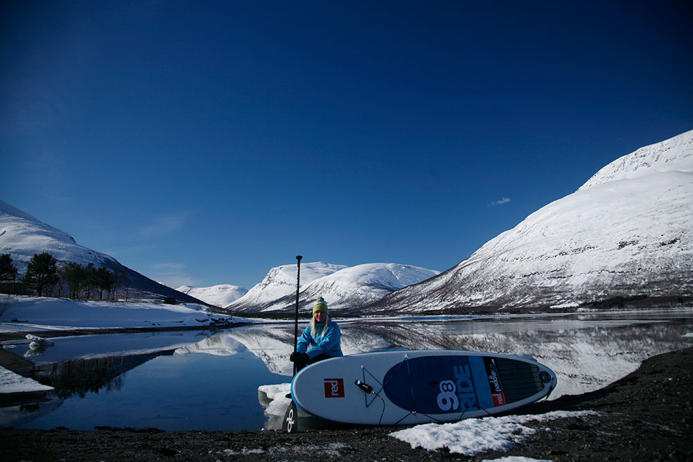 Standup Paddling Above the Arctic Circle 12