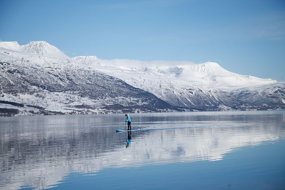 Standup Paddling Above the Arctic Circle 13