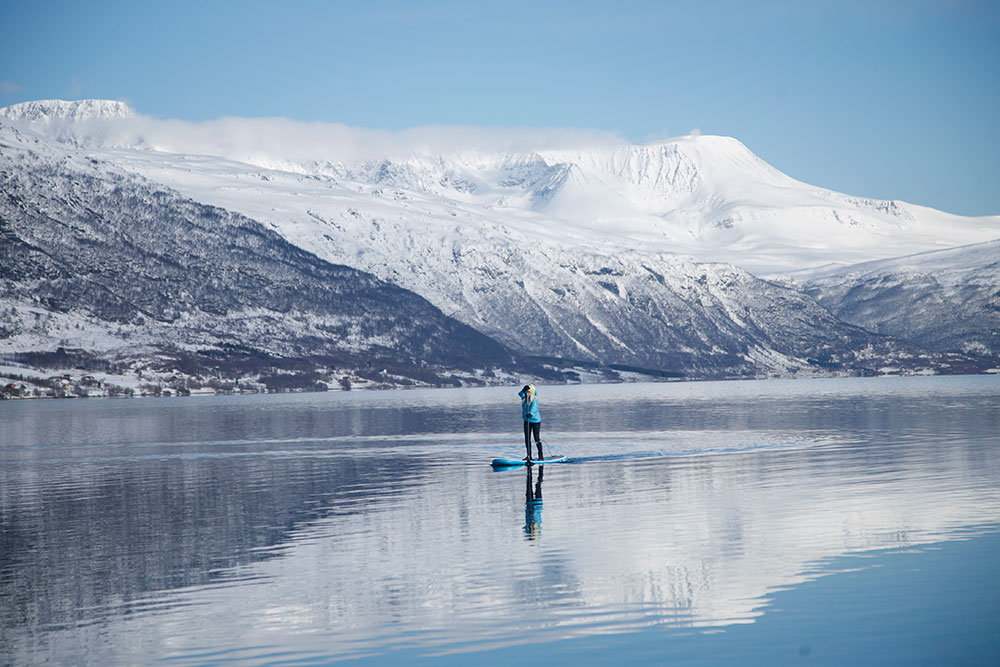 Standup Paddling Above the Arctic Circle 14