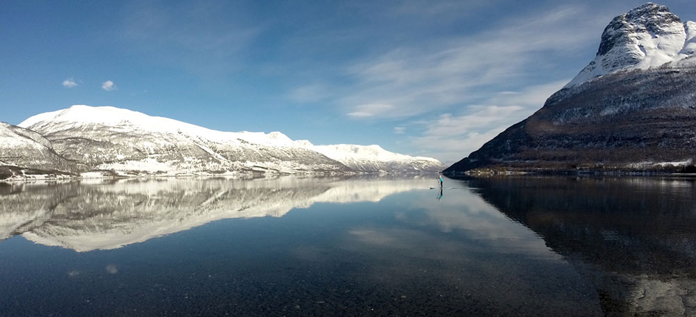 Standup Paddling Above the Arctic Circle 8