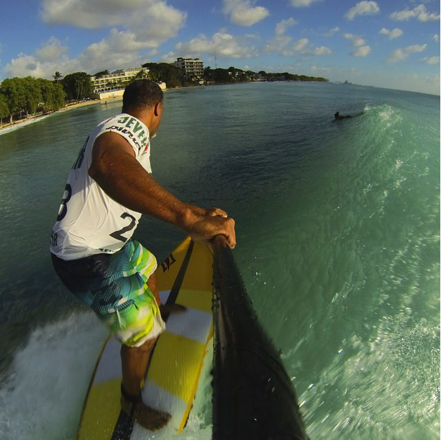 kenny_hewitt_photos West Coast#Barbados down the line glass #SUP#standuppaddle #standupjournal