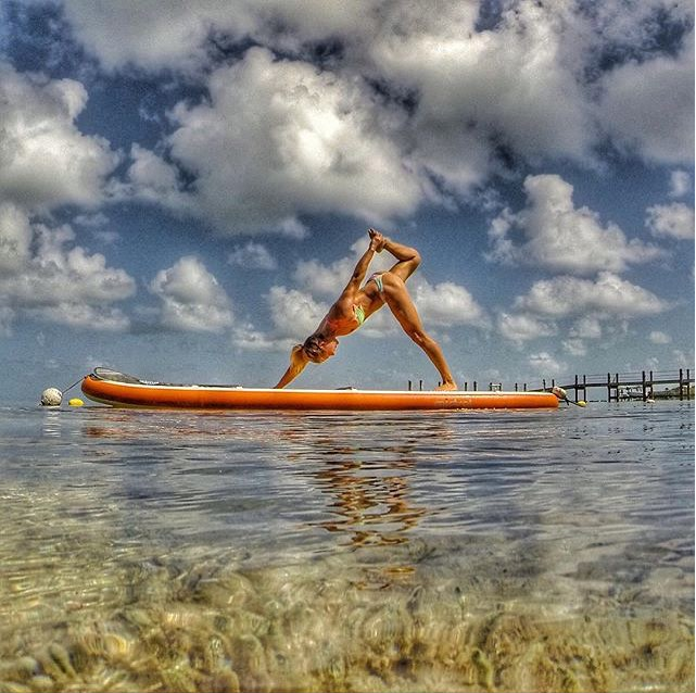 mistralusa Seychelle in the keys…. #TGIF #Mistral #Yoga