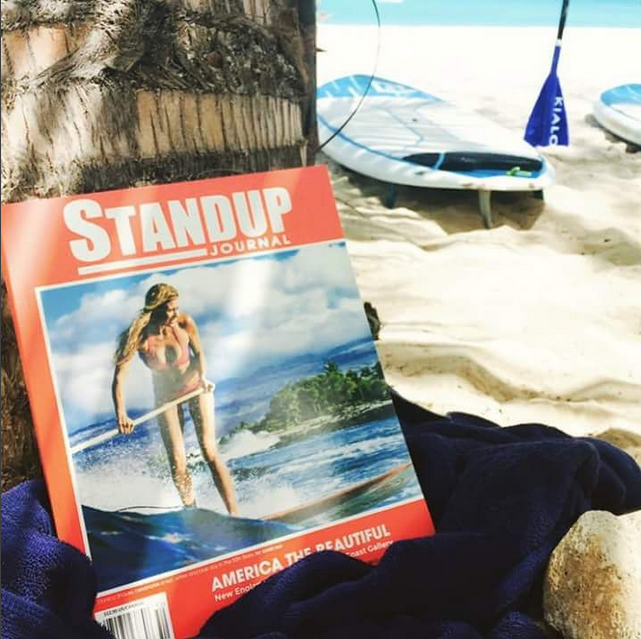 surfers_zone Get your Stand up journal magazine at Paddle Barbados