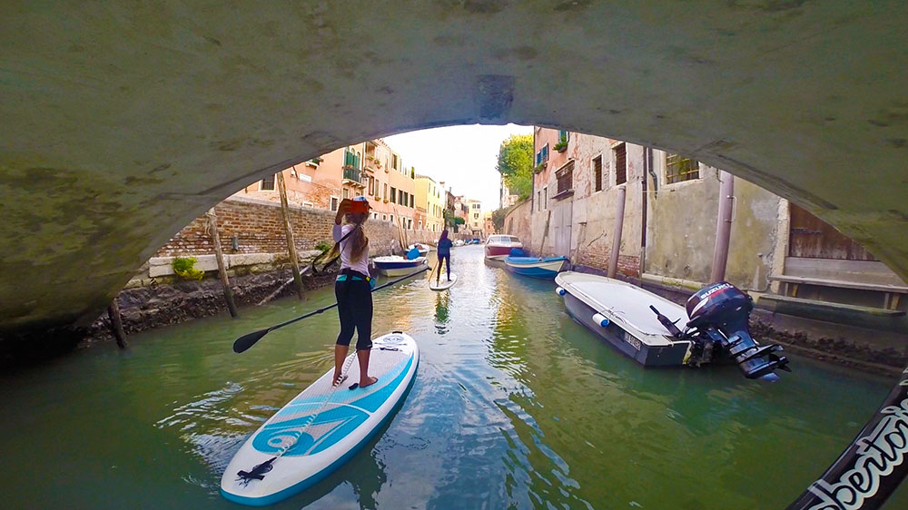 SUP & a CUP- Venetian Canals in Venice, Italy 1
