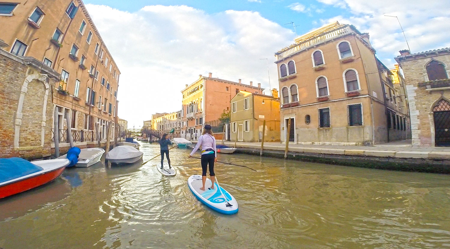 SUP & a CUP- Venetian Canals in Venice, Italy 2
